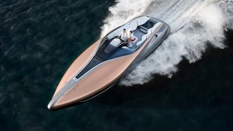 Lexus propune un yaht de viteză compact