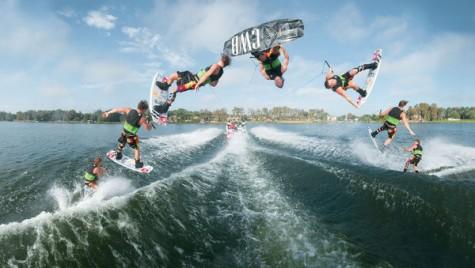 Wakeboarding, un mix incitant