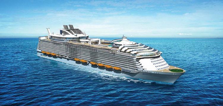 Start pentru cel mai mare vas de croazieră al lumii