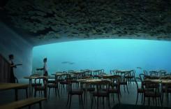 Restaurant subacvatic în Norvegia