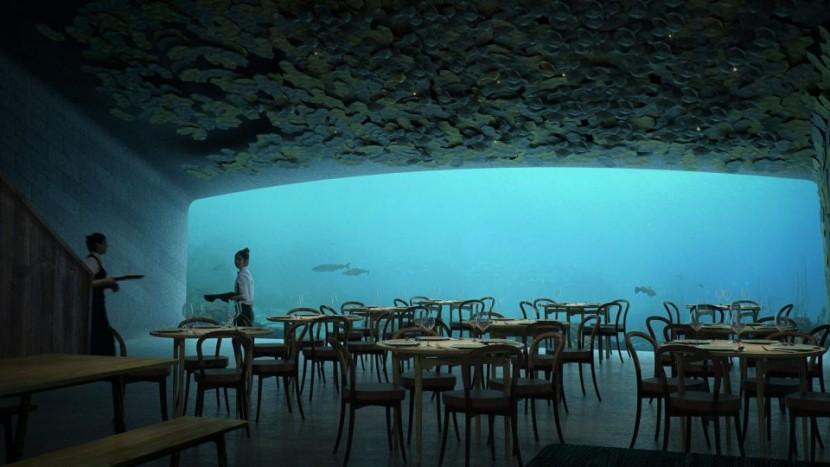 restaurant sub apă