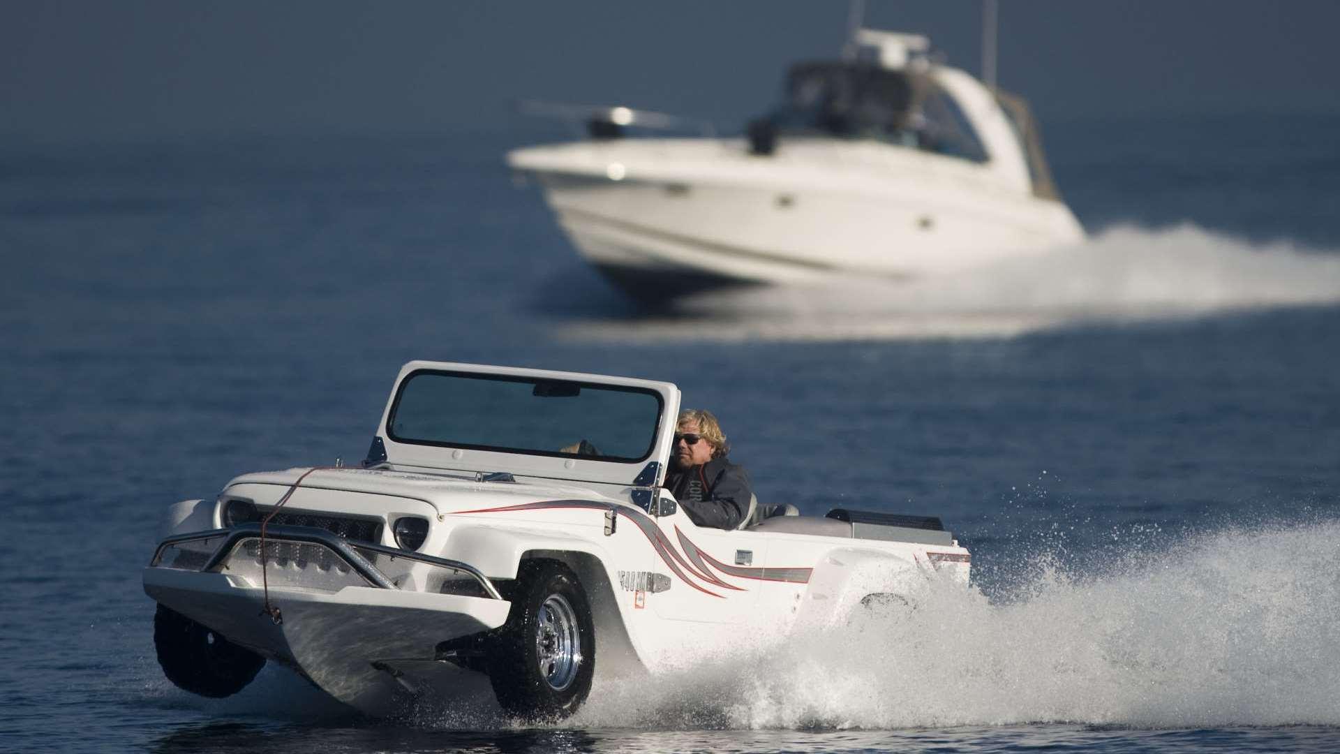 Panther Water Car