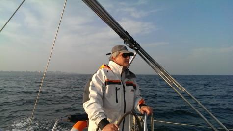 Sailing de iarnă la Marea Neagră
