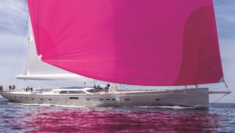 Croazieră în tonuri de roz