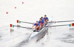 Cum se antrenează cei 4 băieți de aur de la canotaj