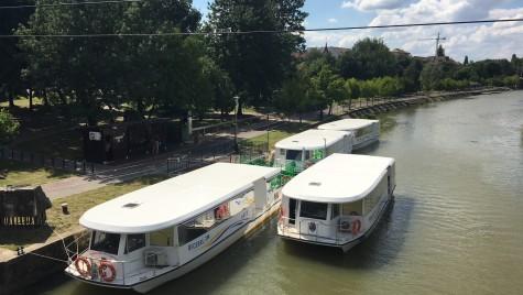 La doi ani de la achiziţionarea vaporaşelor, a început transportul pasagerilor pe Bega