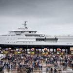 Superyacht-ul La Datcha, model SeaXplorer 77, a fost construit în România