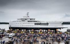 Superyacht-ul La Datcha, model SeaXplorer 77 construit în România la Galați