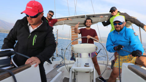 Charter skipper training week sau HOP