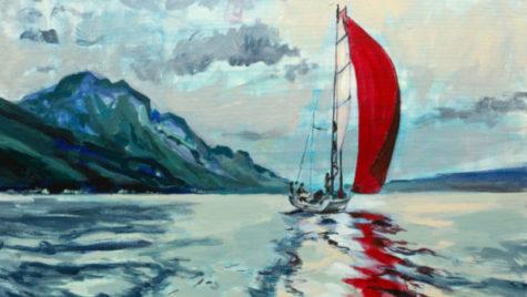 """Expoziția de artă cu tematica """"Marea și navigația"""""""