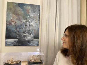 """Carmen Croitoru  - Expoziția """"Marea și Navigația"""""""