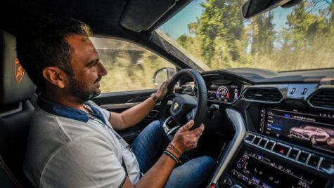 Mașina Navigatorului – Lamborghini Urus