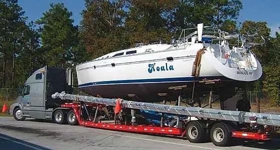 Delivery catamaran