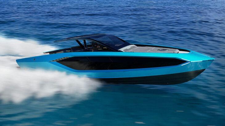 Lamborghini a prezentat Technomar 4000CP pentru Lamborghini '63 Super-Yacht